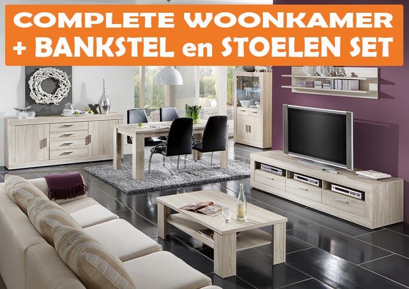 Goedkope Complete Woonkamers : Budget woonkamers maxum megastore