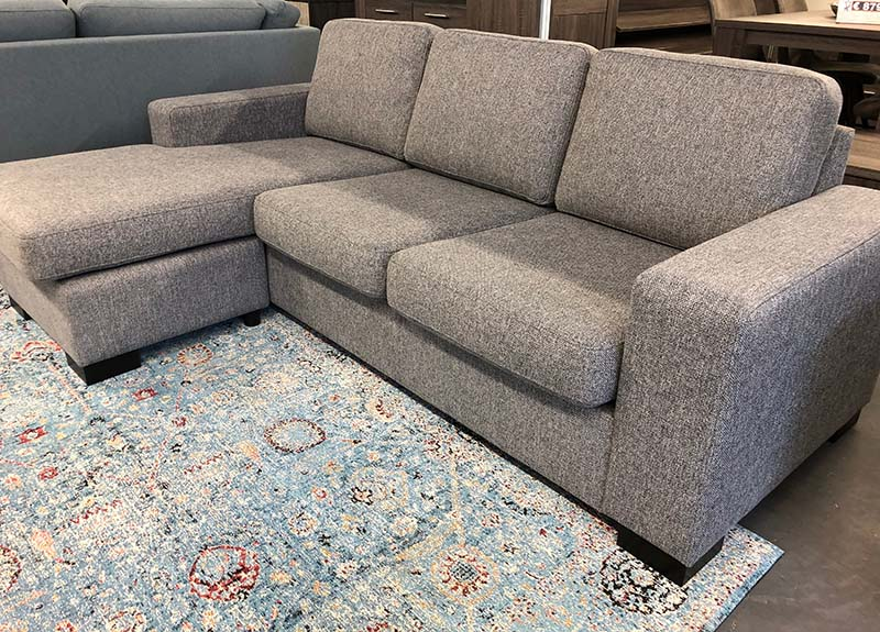 Loungebank Pardo  3seat+divan Unit 68 dark grey